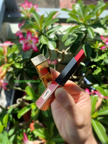 YSL The Slim Wild Collector Crocrodile Series 119 Light Me Red ( Phiên Bản Đặc Biệt ) - MADE IN FRANCE.