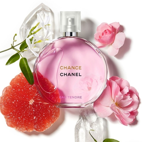 Chanel Chance Eau Tendre EDT 100ml - MADE IN FRANCE.