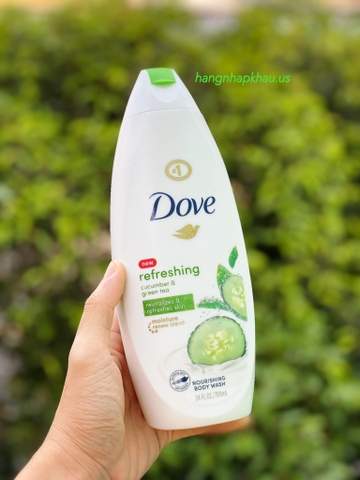 Sữa Tắm Dove Refreshing Cucumber & Green Tea (709ml) - MADE IN USA.