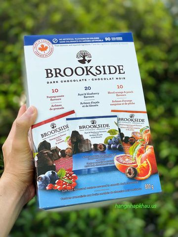 Socola Brookside (800gr) - MADE IN CANADA.