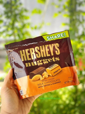 Socola Hershey Nuggets Extra Creamy (289gr) - MADE IN USA.
