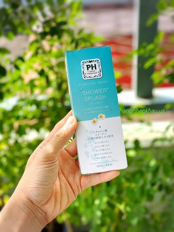 Dung dịch vệ sinh phụ nữ PH Care SHOWER SPLASH (150ml) - MADE IN JAPAN.