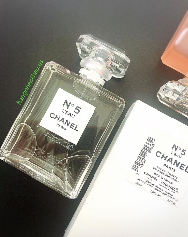 Chanel No.5 L'eau EDT 100ml TESTER - MADE IN FRANCE.