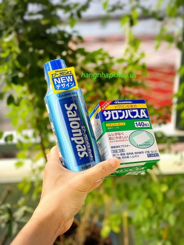 Combo Salonpas Hisamitsu giảm đau nhức - MADE IN JAPAN.