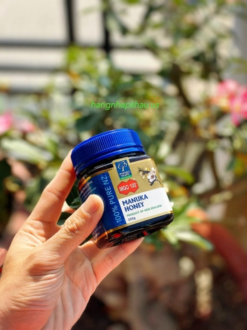 Mật Ong Manuka MGO 100+ (250gr) - MADE IN NEW ZEALAND.