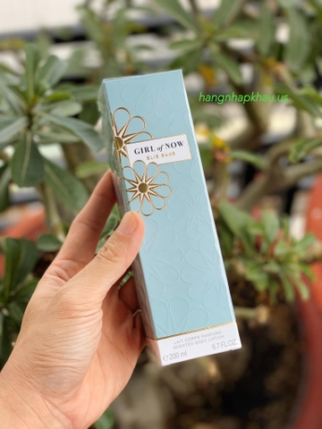 Dưỡng thể Elie Saab Girl Of Now 200ml - MADE IN FRANCE.