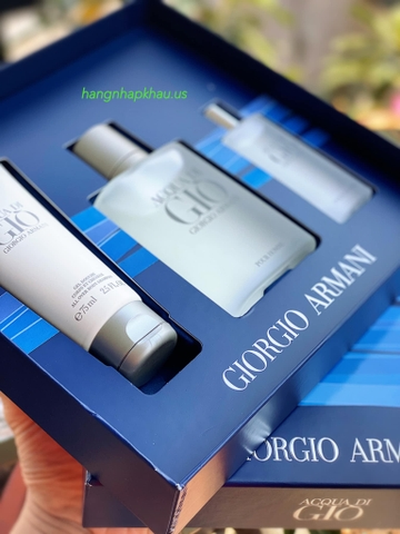 Gift Set Giorgio Armani Acqua Di Giò EDT - MADE IN FRANCE.