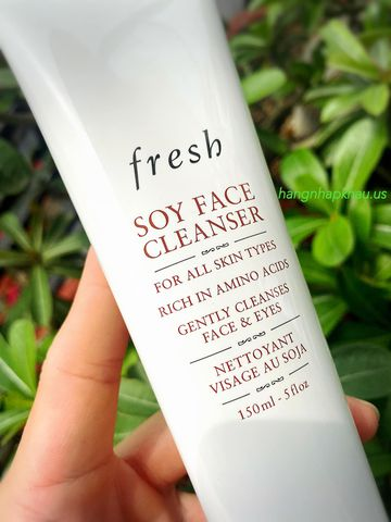 Sữa rửa mặt Fresh Soy Face Cleanser (150ml) - MADE IN USA.