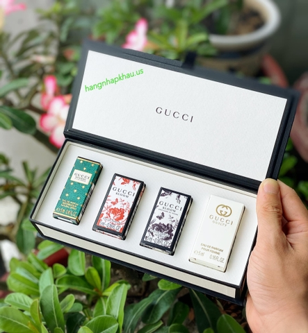 Giftset Gucci Beauty Miniature Collection (4x5ml) - MADE IN SPAIN.