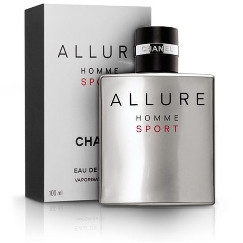 Chanel Allure Homme Sport EDT 100ml - MADE IN FRANCE.