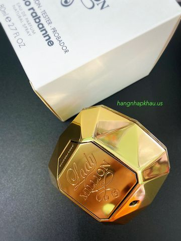 Paco Rabanne Lady Million EDP 80ml TESTER - MADE IN FRANCE.