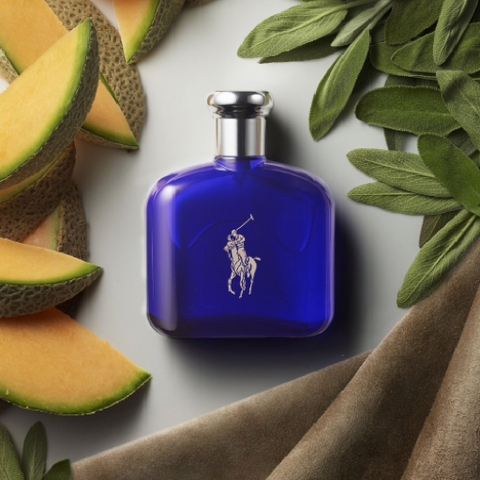 Ralph Lauren Polo Blue For Men EDT 125ml - MADE IN FRANCE.