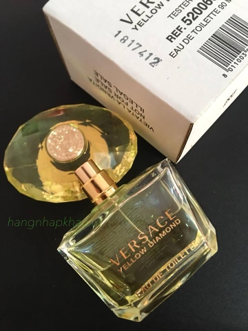 Versace Yellow Diamond Eau de Toilette 90ml TESTER.