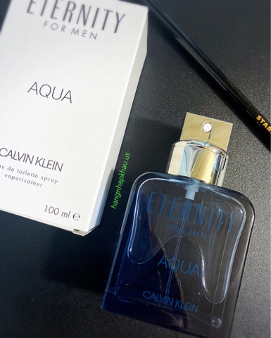 CK Eternity Aqua For Men EDT 100ml TESTER