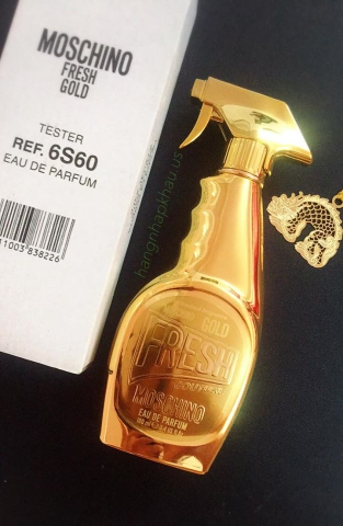 Moschino Gold Fresh Couture EDP 100ml TESTER - MADE IN ITALY.