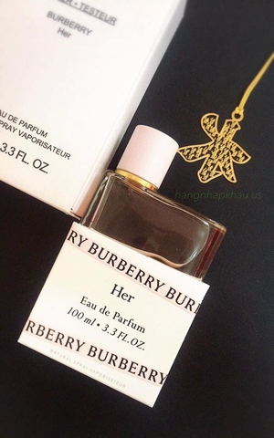 Burberry Her EDP 100ml TESTER - MADE IN FRANCE.