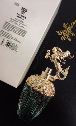 ANNA SUI FANTASIA MERMAI 75ml TESTER - MADE IN USA.