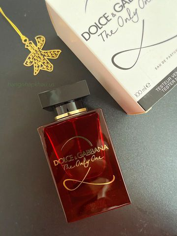 Dolce & Gabbana The Only One 2 EDP 100ml TESTER - MADE IN FRANCE.