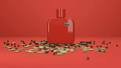 Lacoste Eau de Lacoste L.12.12 Rouge EDT Pour Homme 100ml - MADE IN GERMANY.