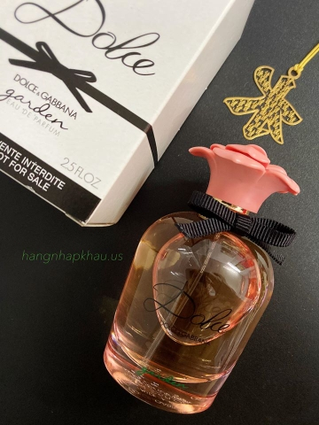 Dolce & Gabbana Dolce Garden EDP 75ml TESTER - MADE IN FRANCE.