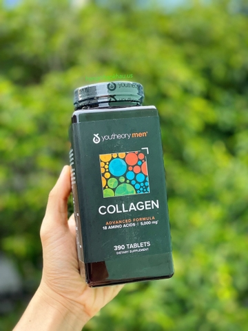 Collagen Youtheory Men 390 viên - MADE IN USA.