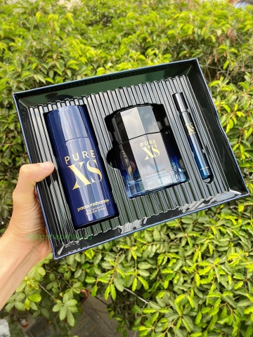 Set Nước hoa Paco Rabanne Pure XS - MADE IN FRANCE.