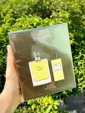 Set Terre d'Hermes Eau Intense Vétiver - MADE IN FRANCE.