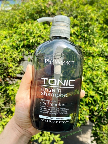 Pharmaact TONIC rinse in shampoo 600ml - MADE IN JAPAN.