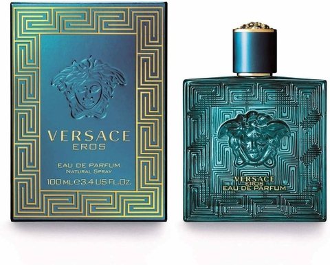 Versace Eros EDP 100ml - MADE IN ITALY.