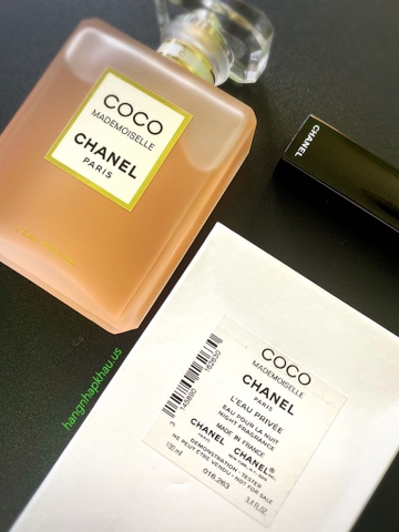 Coco Chanel Mademoiselle L'Eau Privée EDP 100ml TESTER - MADE IN FRANCE.