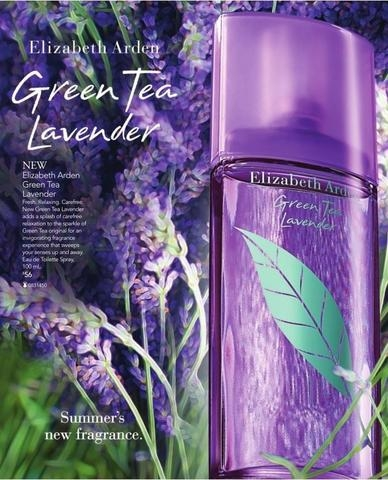 LAVENDER GREEN TEA E.A 100ml