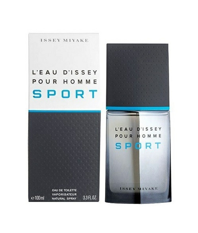 Issey Miyake L'eau D'issey Sport Pour Homme EDT 100ml - MADE IN FRANCE.