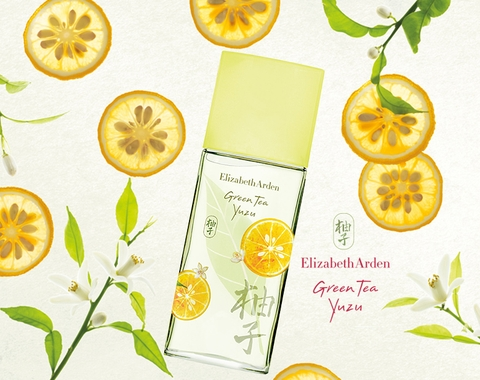 YUZU GREEN TEA E.A 100ml