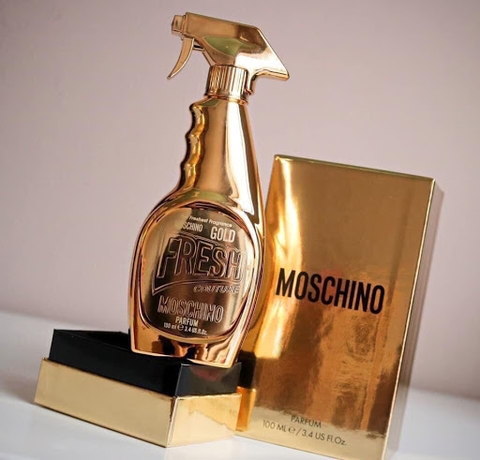 Moschino Gold Fresh Couture EDP 100ml - MADE IN ITALY.