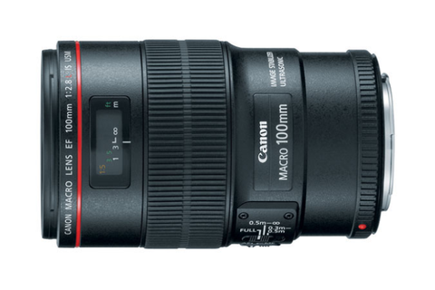 Canon EF 100mm f/2.8L Macro IS USM (Mới 100%)