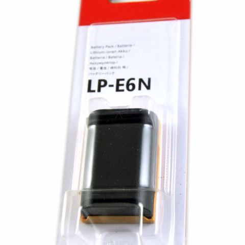 Pin Canon LP-E6N