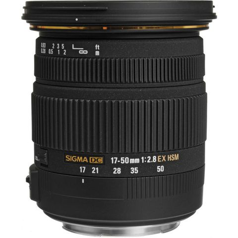 Sigma 17-50mm f/2.8 EX DC OS  for Canon