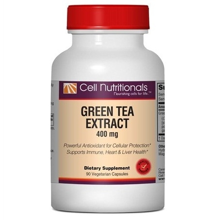 Green tea extract 400mg 90v