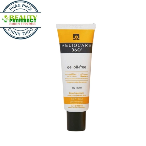 Kem chống nắng Heliocare 360 Gel oil-free SPF50 50ml
