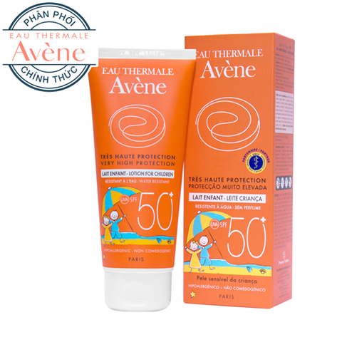 Lotion chống nắng dành cho trẻ em Avene Very High Protection Lotion For Children 50+ 100ml