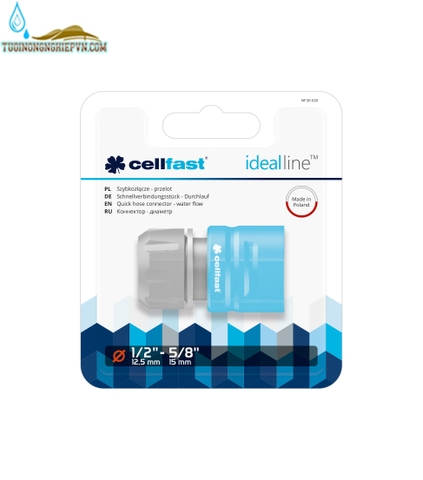 Cút nối nhanh cellfast ideal line plus 21mm