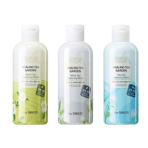 Nước tẩy trang The Saem Healing Tea Garden White Tea Cleansing Water