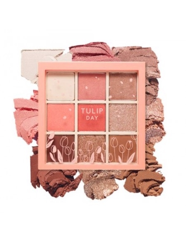 Bảng phấn mắt Etude House Play Color Eyes Tulip Day