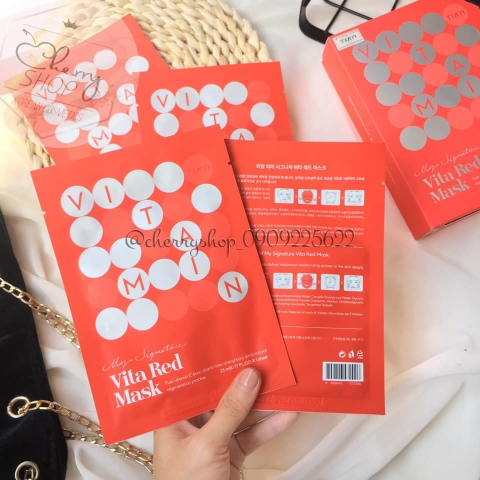 MẶT NẠ TIAM MY SIGNATURE VITA RED MASK