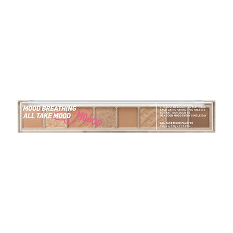 Bảng phấn mắt Peripera All Take Mood Palette  01 Mood Breathing