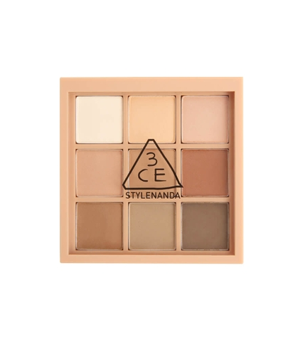 Bảng phấn mắt lì 3CE Multi Eye Color Palette #smoother