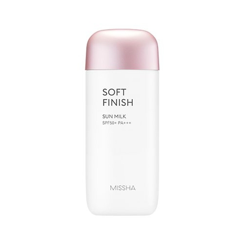 Missha All-Around Safe Block Soft Finish Sun Milk SPF50+ PA+++ 70ml