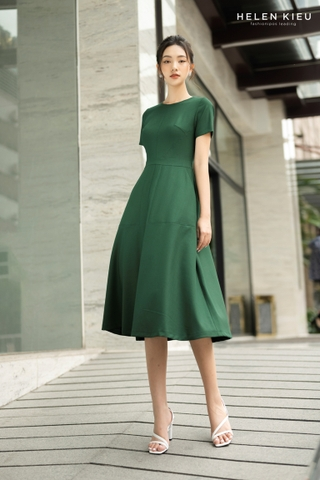 [Helen Kieu] Midi Long Green HE210501