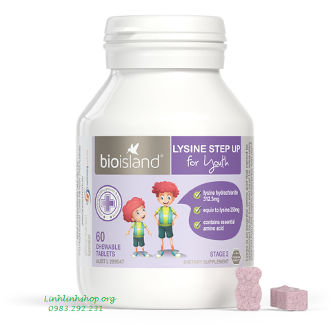 Bio Island Lysine Step Up