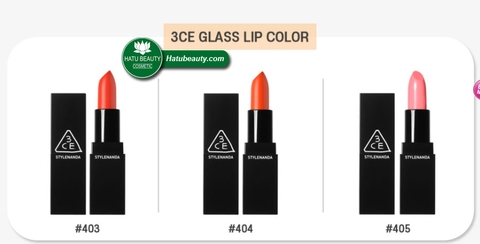 Son 3CE Glass Lip Color